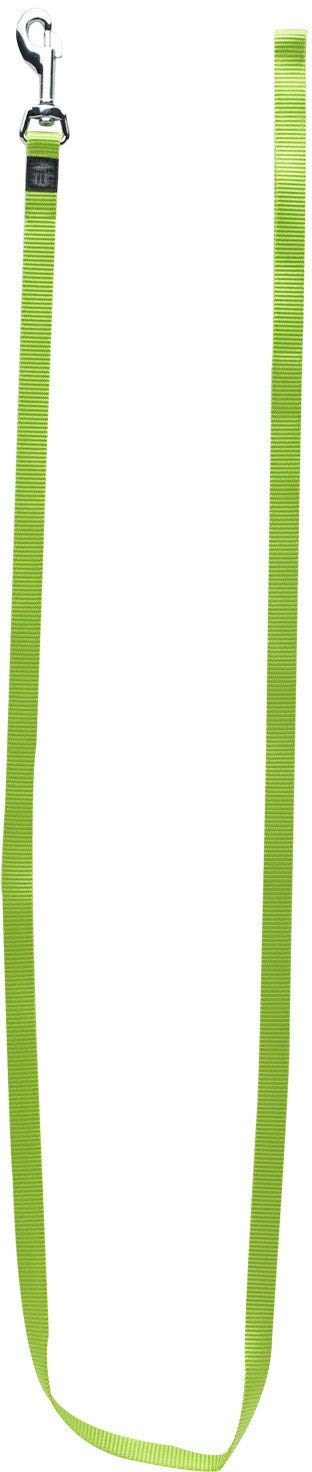 Dogit Nylon Single Ply Training Dog Leash, Medium, Green