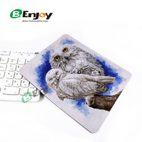 Hot sale anti slip sticky custom print rubber mouse pad with cheap price