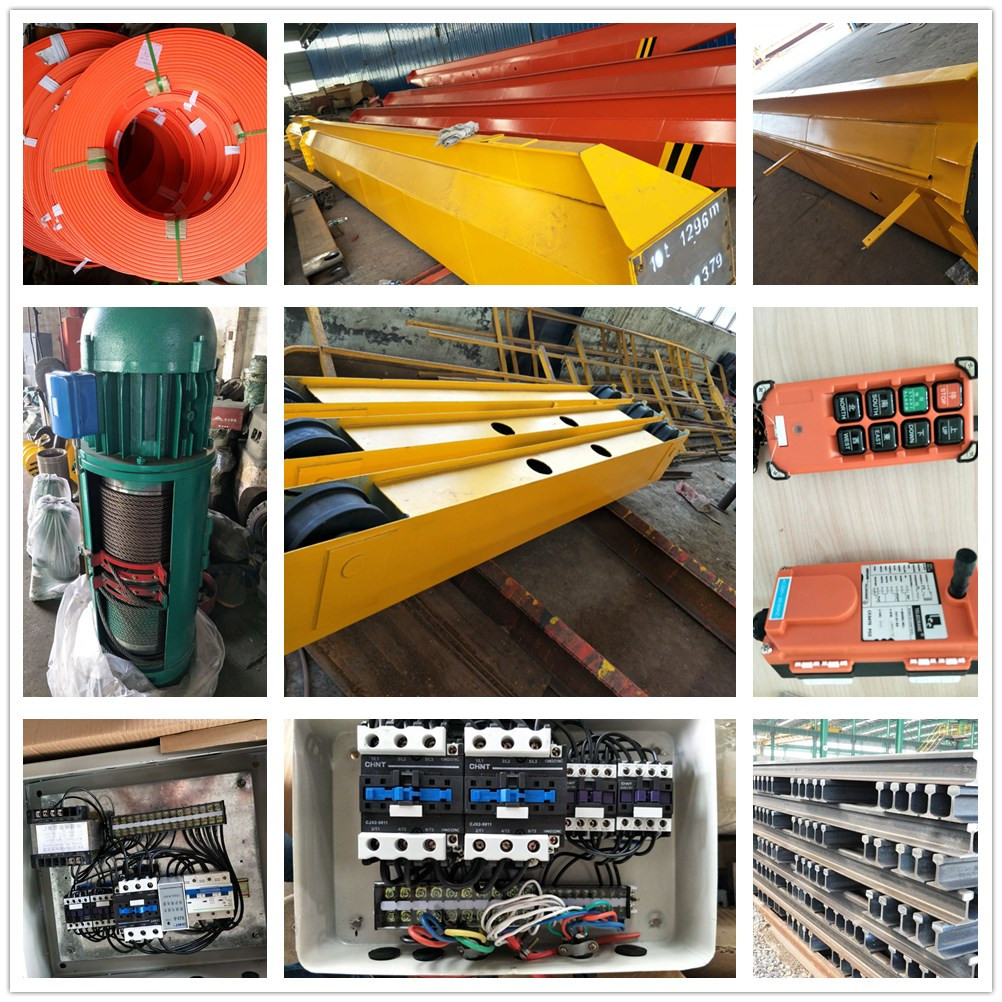 2020 China manufacturers single girder beam electric overhead travelling cranes