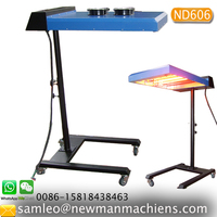 CE Proved ND606 Automatic far-infrared flash cure unit screen printing,Full 20
