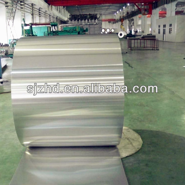 Aluminum foil jumbo roll for chocolate wrapper butter packaging
