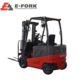 Reliable and cheap electric narrow aisle lift truck forklift driver stand on reach
