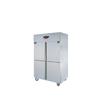 Commercial stand mobile used double door refrigerator