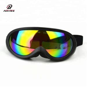 OEM UV protection lens soft density foam fashion goggles for motocross
