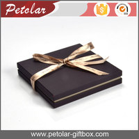 custom color necklace paper gift box of jewelry