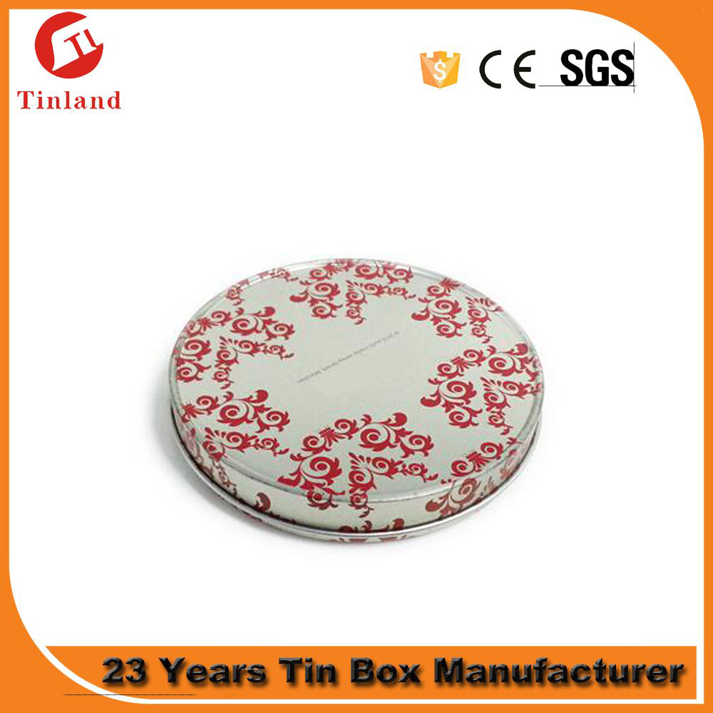 recyclable cylinder box cd tin case with zipper