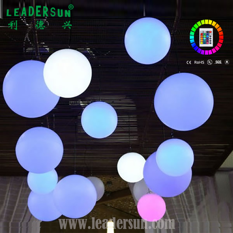 Amazing 16color Changing Flashing Dmx512 Plastic Led Disco Ball For Ktv Bar Pub