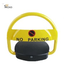 SOLAR POWER waterproof NO PARKING road BARRIER REMOTE CONTROL smart automated car parking system