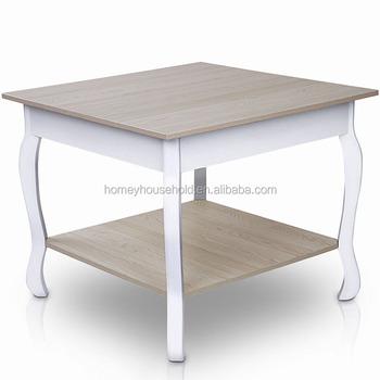 Campagne Europeenne En Bois De Style Simple Table Basse Carree Buy