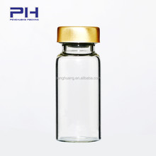 cosmetic glass tube bottle glass vial with rubber stoper glass vial tubular medical vials