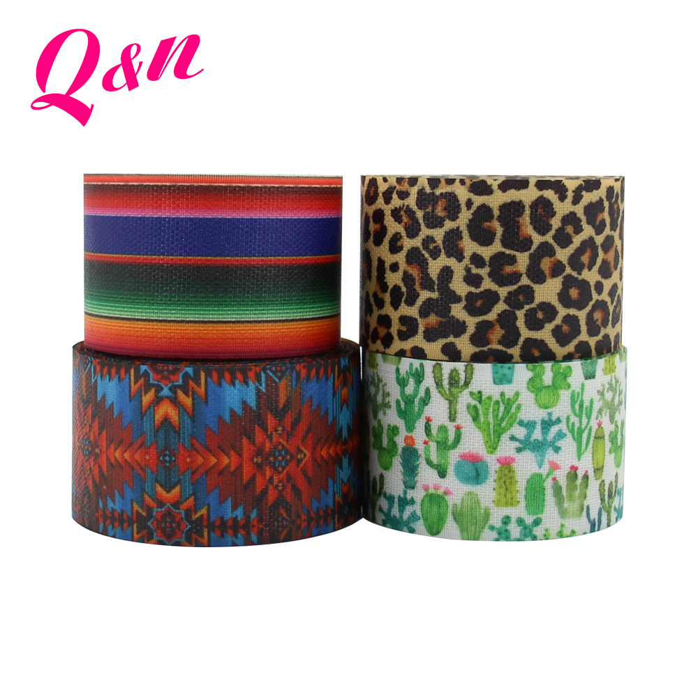 High Quality Colorful Printed Hair Hook Tape Sticky Hook Loop