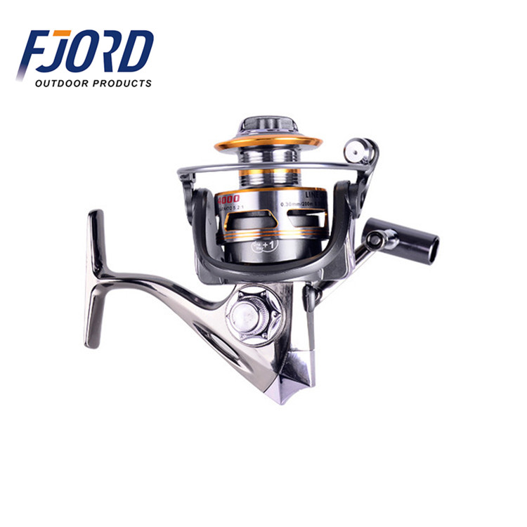 FJORD Full metal body great low price CNC big game spinning fishing reel, Same as picture or customized