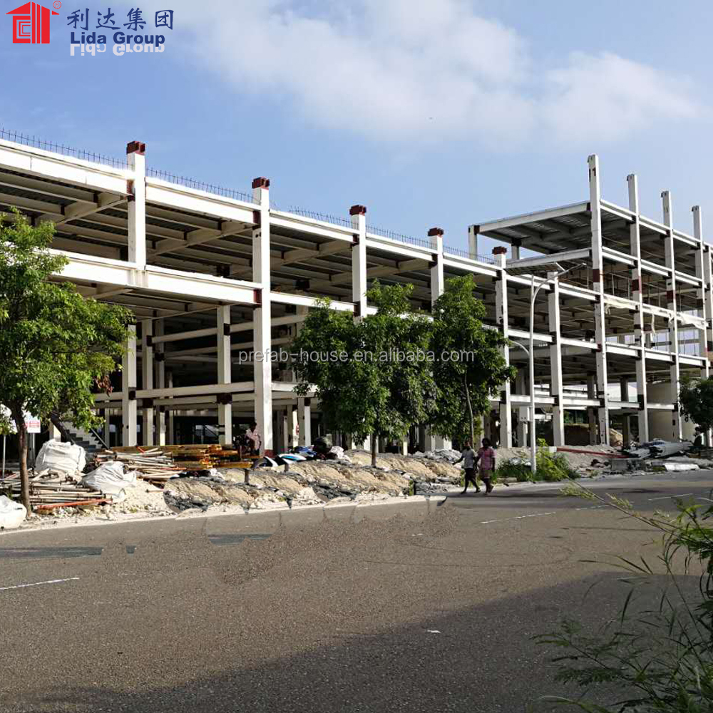 High rise prefabricated steel structure building