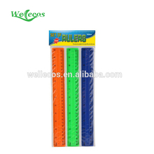 top selling School or Office Use stationery plastic ruler made in China