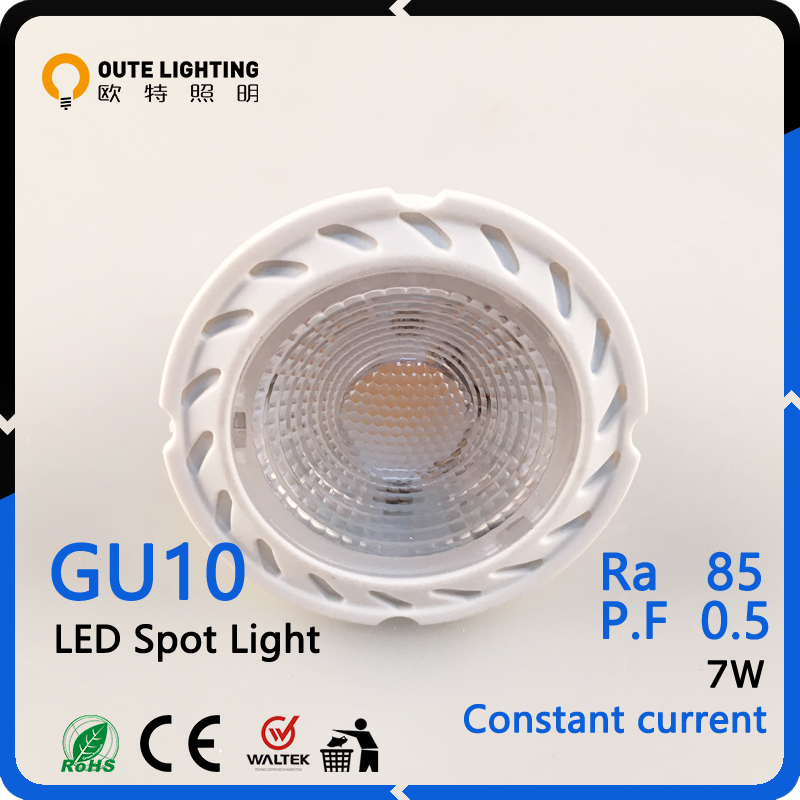 30000 Hours 7W B22 GU10 Gu10 Led Spotlight Lamps