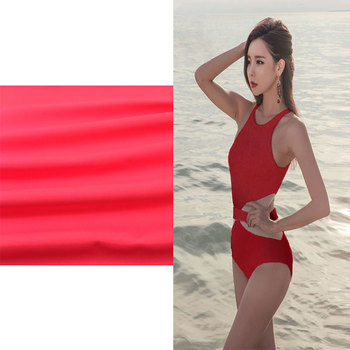 Polyester Nylon Spandex Blend Fabric Swimwear Stretch Quick Dry Textile Fabric