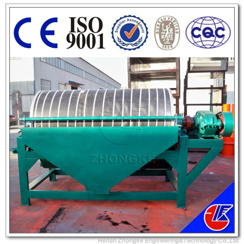 Hematite iron ore magnetic separator, Mineral concentrates magnetic separation equipment