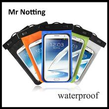 waterproof mobile phone bags 5.5inch smartphone universal size protective mobile phone bags