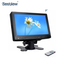 7 inch small touch screen led monitor for car pc and raspberry Pi