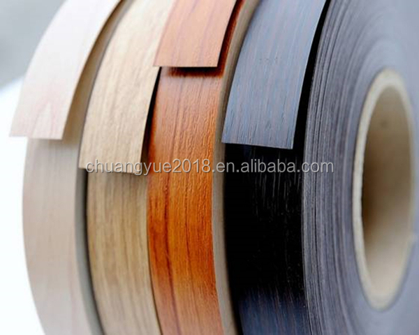 mdf door protective pvc edge band strips