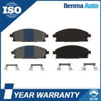 High Quality ISO Auto Spare Parts Low Metallic Auto Brake Pads 410601W486 /410606P085