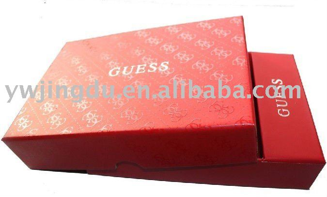 high quality apparal storage paper packaging box