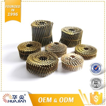 High Quality Wire Pallet Manufacturer Diamond Point Coil Nails