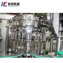 Carbonated soda water soft drink machinery plastic bottle making filling machine