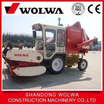 China Small Soybean Reaper Grain Combine Harvester For Sale