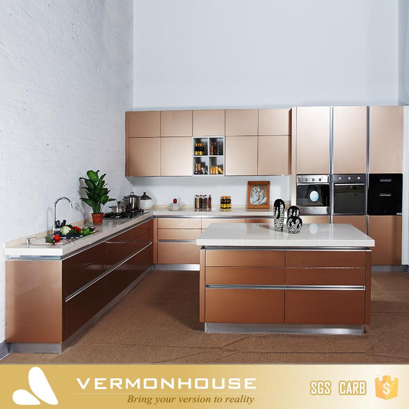 2017 Vermont China Fábrica de Oro Champán Color Laca muebles de ...