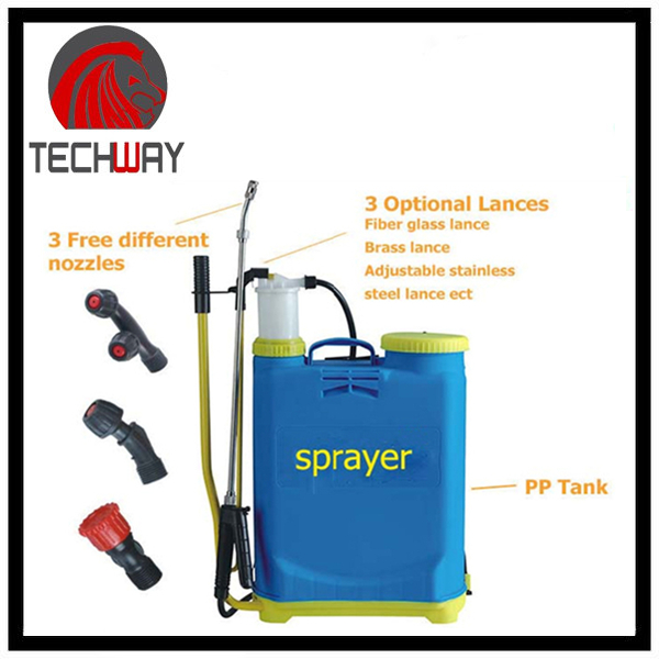 Knapsack 16L Hand Sprayer With PP Tank For Agriculture Use (TWSPH16)