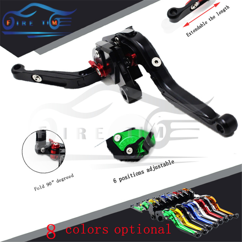 adjustable&foldable motorcycle brake clutch levers black CNC brake clutch lever FOR DUCATI STREETFIGHTER/S 2009 2010 2011 2012