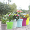 2015 new large virgin pp garden decorative pots garden edging items