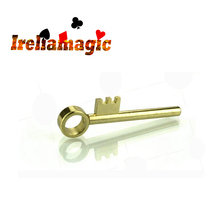 Golden Key / move keys / Ireliamagic tricks / magic toys / Make the teeth on a solid brass key move up the shaft