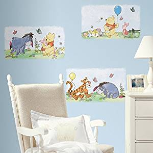 Roommates Rmk1637Scs Winnie The Pooh Poster Peel & Stick Wall Decals