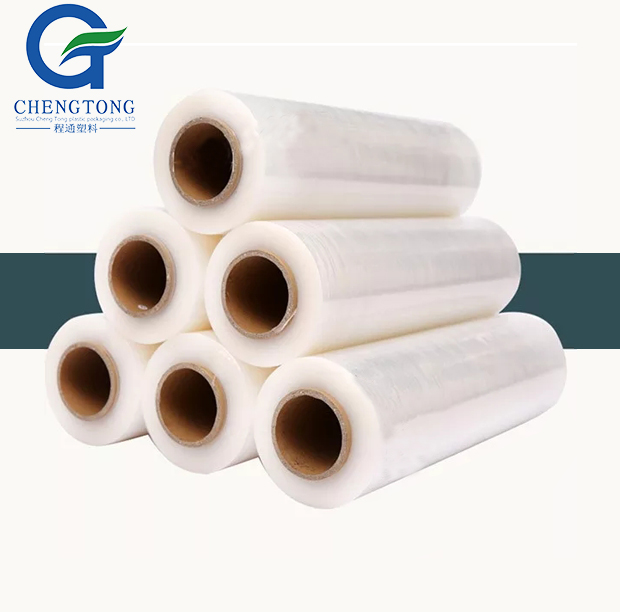 Transparent PVC/PE Shrink Film Customized Pallet Stretch Film Plastic Wrapping Film