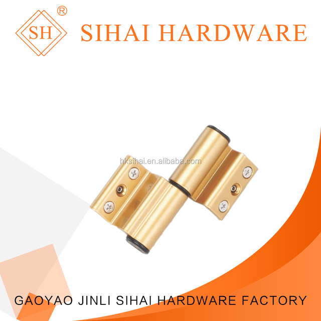 Good quanlity steel shaft steel screw aluminium window hinge for doors&windows hardware accessories