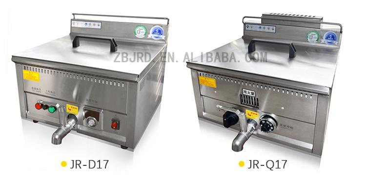 Commercial Donut Tempura Fryer Machine Frying Banana