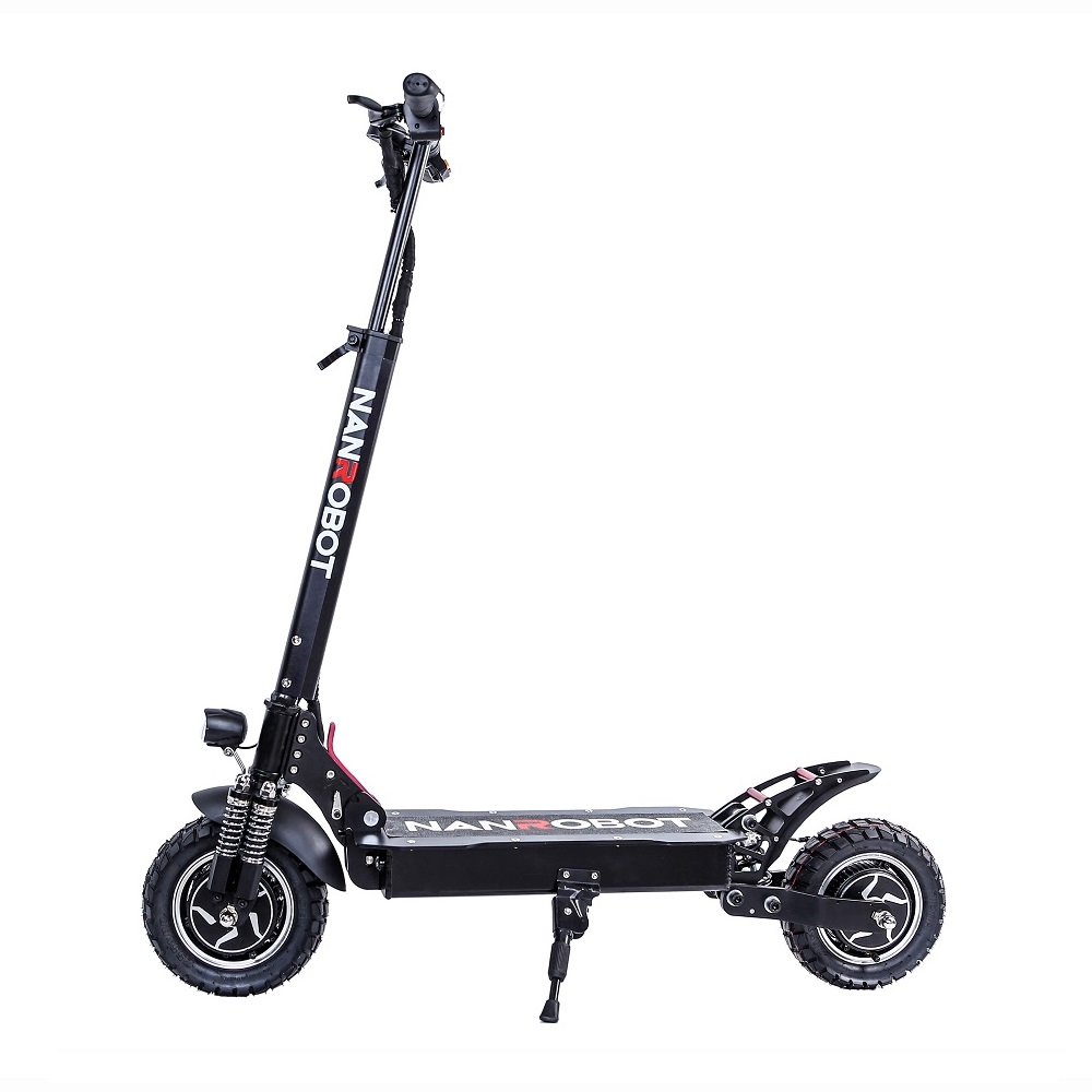 NANROBOT D4+upgrade 2000W 52V 10 inch standing up 2 wheel suspension electric scooter фото