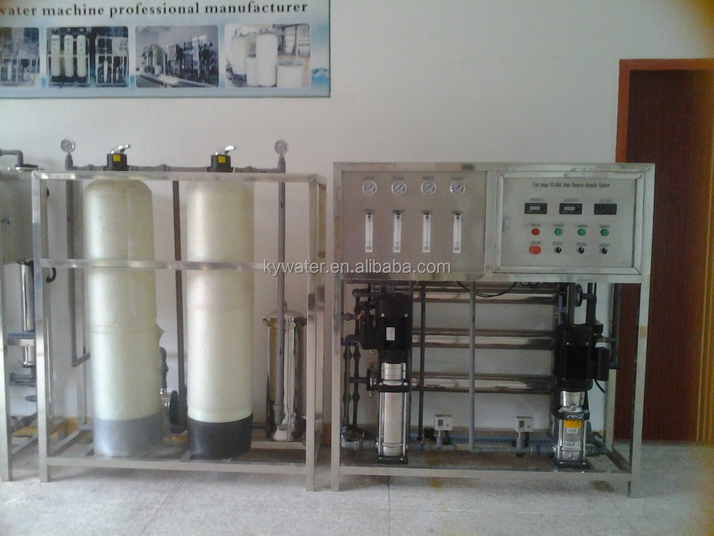 Economic easy installation 500L/HR Sea Water Filter