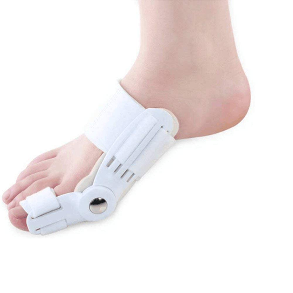 Bunion Corrector, 2pcs Orthopedic Bunion Splint Bunion Pads for Women and Men - Toe Separator Bunion Bootie Guard Cushion - Treat Pain in Hallux Valgus, Big Toe Joint, Hammer Toe
