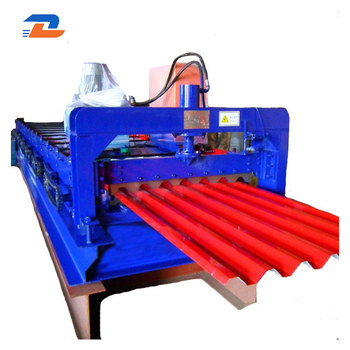 Roof Trapezoidal Joint Type Metal Sheet Roll Forming