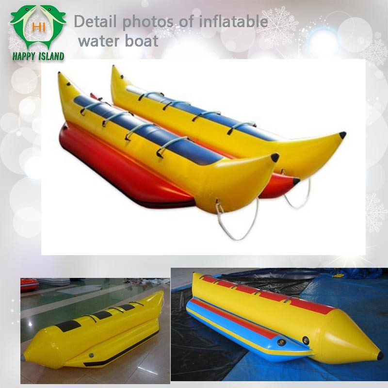 Hi giant inflatable flying fish boat inflatable banana for Inflatable fly fishing boats