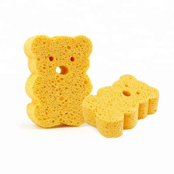 Kitchen Cleaning Sponges Cellulose  Cleaning Scrub Sponge With Scouring Pad