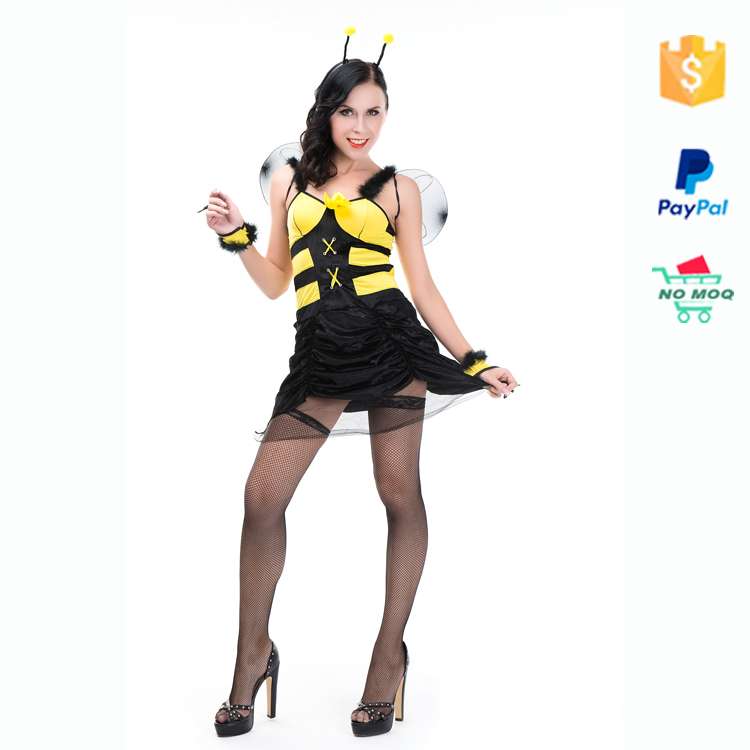 2016 Ultimo partito di cosplay Sexy halloween Animale Bee Costume