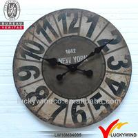 rustic vintage wall clocks large decorative american