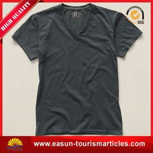Low price t shirt embroidery plain no brand t-shirt list of t shirt brands