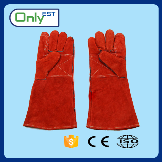 Grade AB welding labour protection split leather hand gloves
