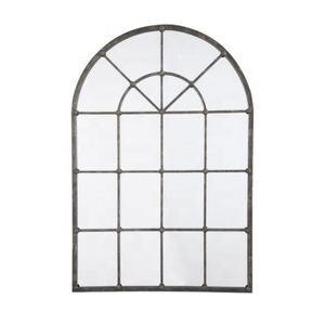 Arched Window Design Accent Wall Mirror