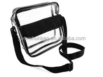 Stadium Roved Clear Messenger Bag Shoulder Transpa Purse With Adjule Strap